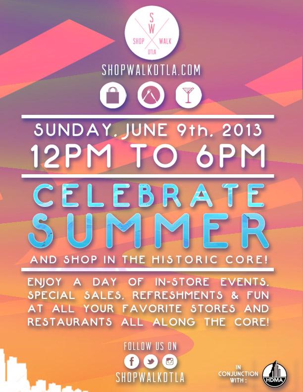 """Flyer via <a href=""""http://shopwalkdtla.com/"""">Shop Walk</a>"""