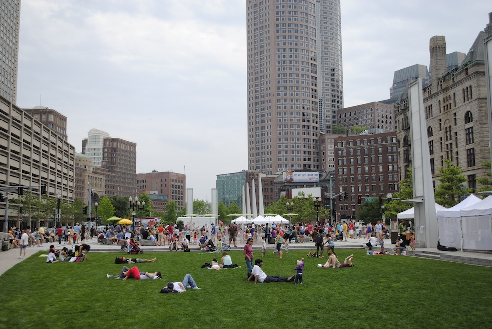 Image courtesy of Rose Fitzgerald Kennedy Greenway Conservancy