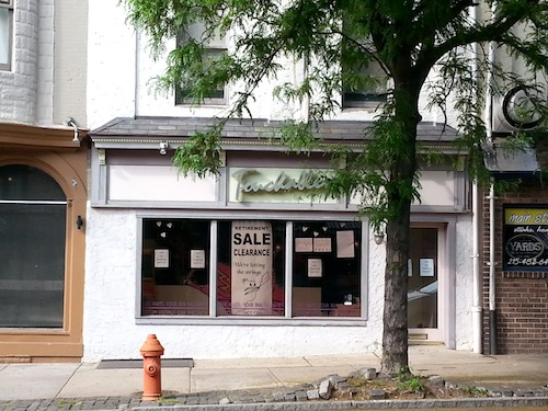 Touchables is closing in Manayunk