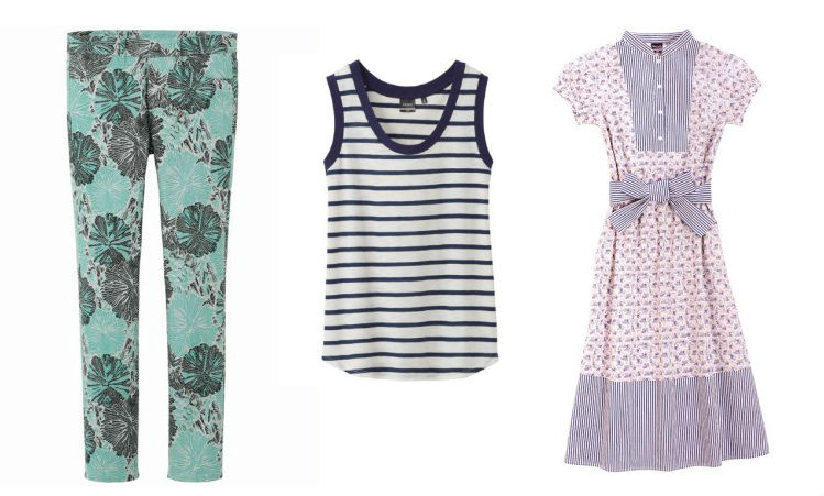 Three looks from Uniqlo's collaboration with Suno