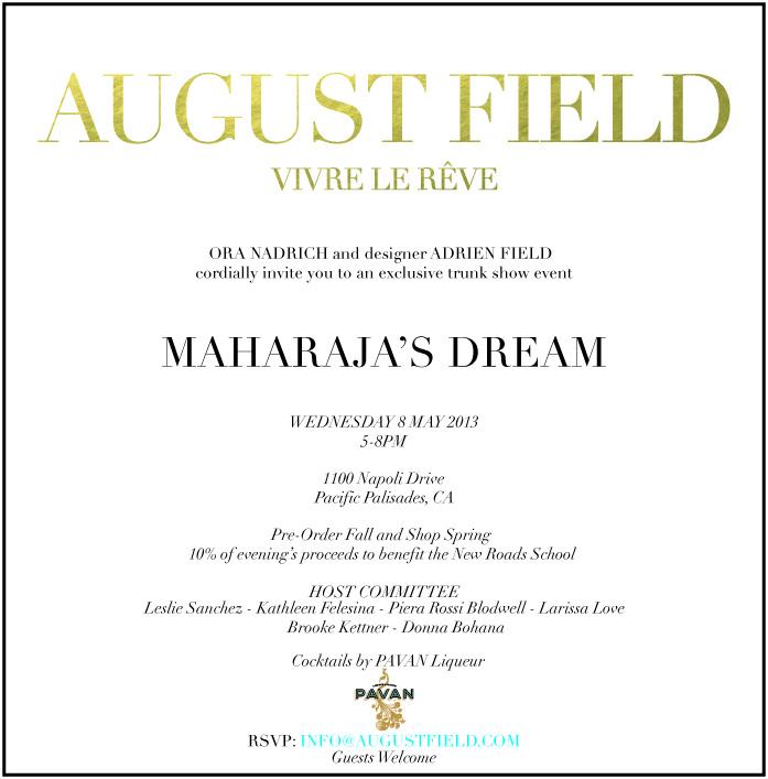 Flyer via August Field
