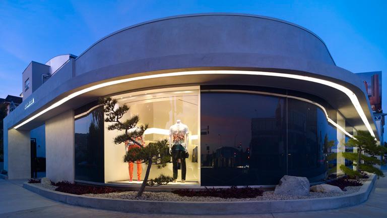 "Image of the LA Mcqueen store via <a href=""http://alexandermcqueen.com"">Alexander McQueen</a>"