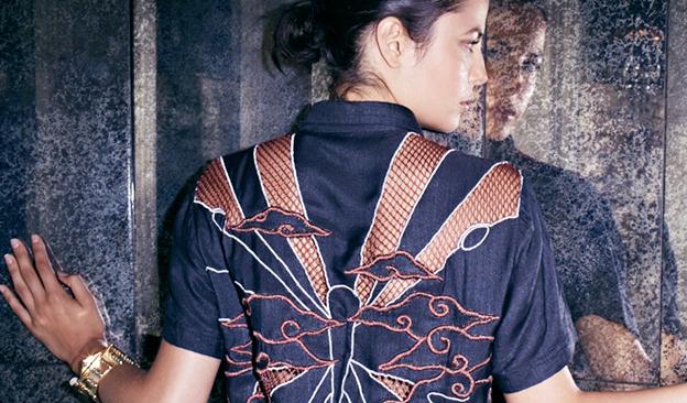 """Photo via <a href=""""http://www.kellywearstler.com/clothing/35,default,sc.html"""">Kelly Wearstler</a>"""