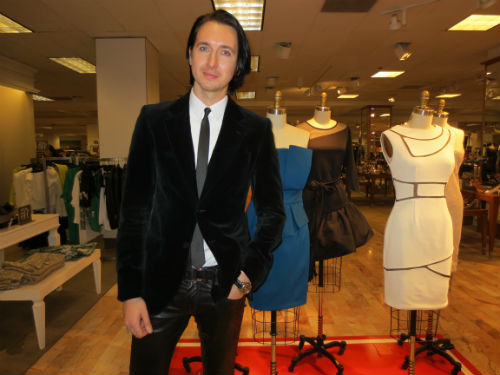 Project Runway's Dmitry Sholokhov Debuts Lord & Taylor Collection