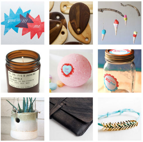 """Images via <a href=""""http://blog.westelm.com/2013/02/06/etsy-pop-up-at-west-elm-los-angeles-curated-by-emily-henderson/"""">West Elm</a>"""