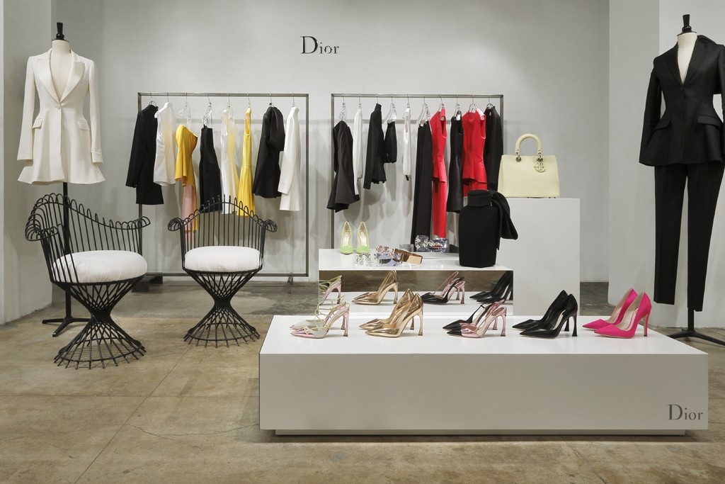 "The Dior pop-up at Jeffrey. Image via <a href=""http://www.wwd.com/retail-news/designer-luxury/dior-arranges-pop-ups-for-raf-simons-first-collection-6734840"">WWD</a>"