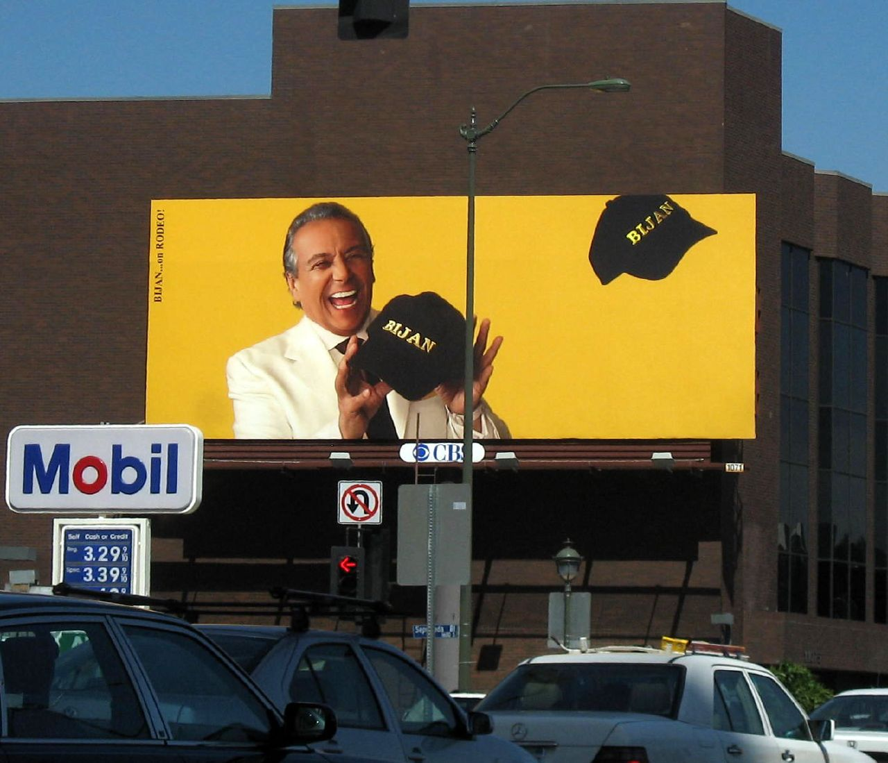 "A vintage Bijan billboard. Photo via <a href=""http://belog.jigaram.com/the-bijan-billboard-%E2%80%94-a-retrospective/"">Belog</a>."