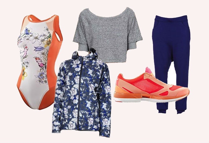 Items featured from Stella McCartney for Adidas, Y-3, and Work