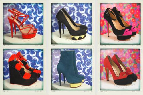 Assorted Charlotte Olympia sale heels
