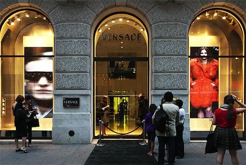 "Versace on Fifth Avenue via <a href=""http://www.mccannsystems.com/2010/09/versace-new-york-new-york/"">McCann Systems</a>"