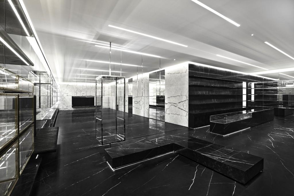 "Photos via <a href=""http://www.wwd.com/retail-news/designer-luxury/slimanes-ysl-concept-to-be-unveiled-in-shanghai-6306005"">WWD</a>"