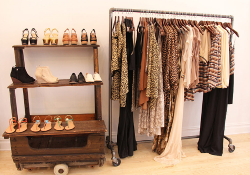 Inside Dolce Vita, one of the participating stores