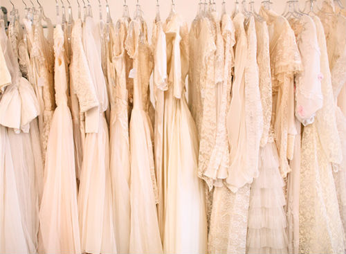 """Photo via Brandon Kidd Photography/<a href=""""http://ny.racked.com/archives/2012/06/11/what_to_know_before_you_shop_for_a_vintage_wedding_dress.php"""">Racked NY</a>"""