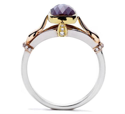 An Anna Sheffield engagement ring