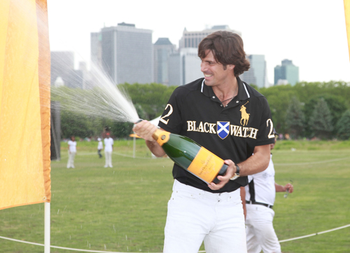 Nacho Figueras at last year's event. Image via Getty.