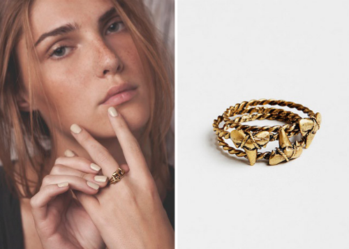 """Win these a set of three stackable Vilela rings (retail for $40 each). Images via <a href=""""http://apeacetreaty.com/products/vilela"""">A Peace Treaty</a>"""