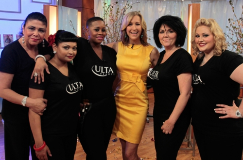 """Image via <a href=""""http://www.stockrants.com/2012/05/09/ulta-beauty-and-lucky-magazine-set-guinness-world-record-for-most-makeovers-in-24-hours-on-good-morning-america.html"""">Stockrants</a>"""