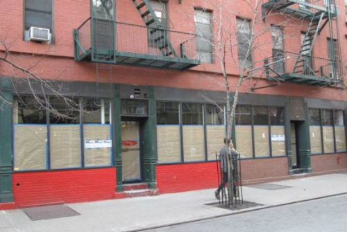 """Image via <a href=""""http://www.boweryboogie.com/2012/03/sandro-and-maje-boutiques-opening-at-prince-and-bowery"""">Bowery Boogie</a>"""