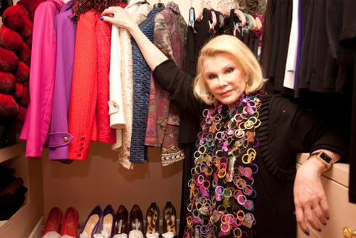 """Image via <a href=""""http://newyork.timeout.com/shopping-style/2668329/closet-case-joan-rivers"""">Time Out New York</a>"""