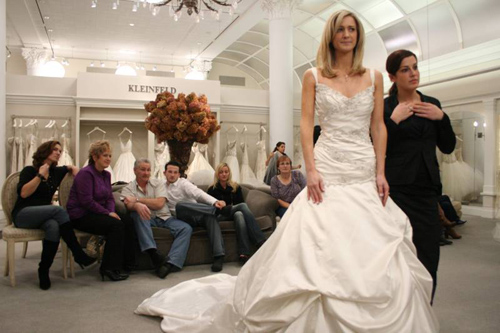 A scene from Say Yes to the Dress