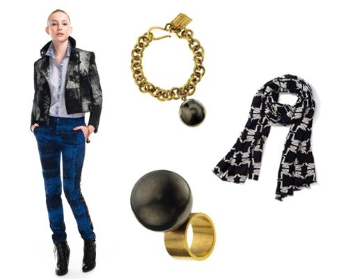 """Kelly Wearstler looks for sale on <a href=""""http://shop.modaoperandi.com/catalog/kelly-wearstler-pre-fall-2012/looks/"""">Moda Operandi</a>."""