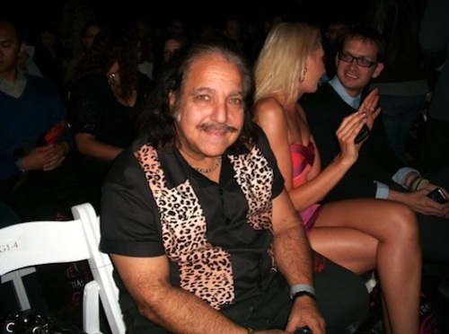 LA Fashion Week always brings out the biggest celebrities. Ron Jeremy, shot at LA Fashion Weekend at Gower Studios