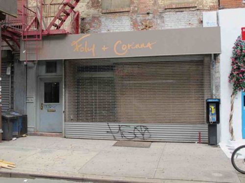 """Image via <a href=""""http://www.boweryboogie.com/2011/09/foley-corinna-shutters-114-stanton-boutique/"""">Bowery Boogie</a>"""