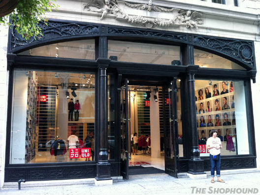 """Image of the Fifth Avenue pop-up via <a href=""""http://theshophound.typepad.com/the_shophound/2011/08/publicity-blitz-uniqlo-launching-a-trio-of-pop-up-shops-in-advance-of-flagships.html"""">The Shophound</a>"""