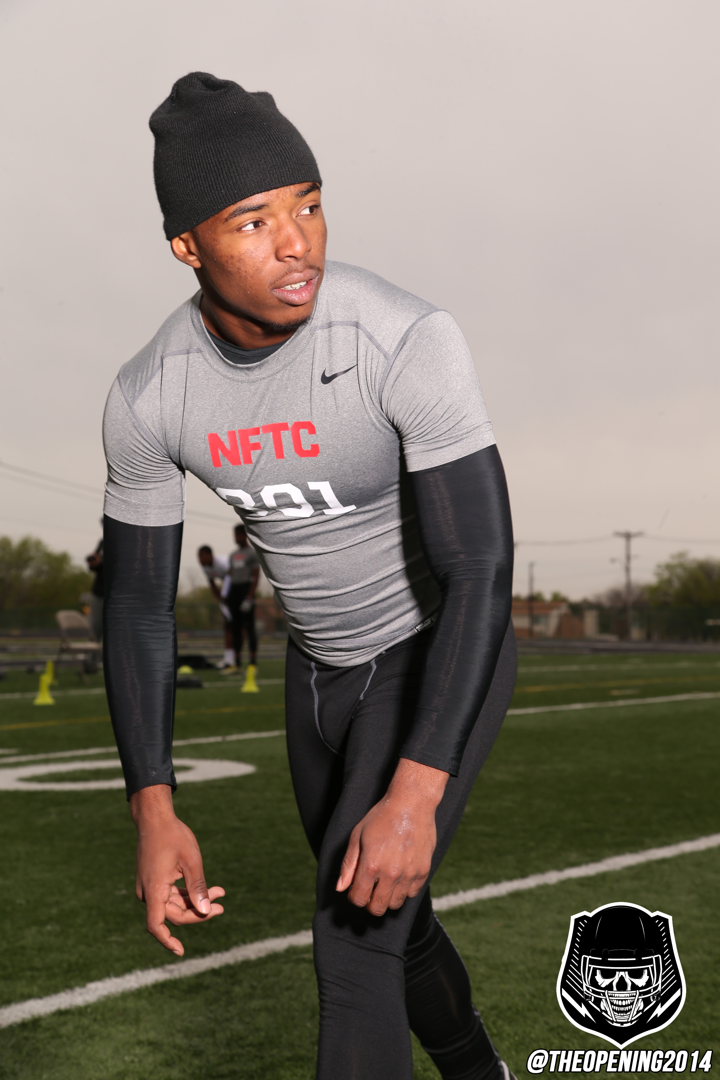 Ryan Newsome at a Nike event