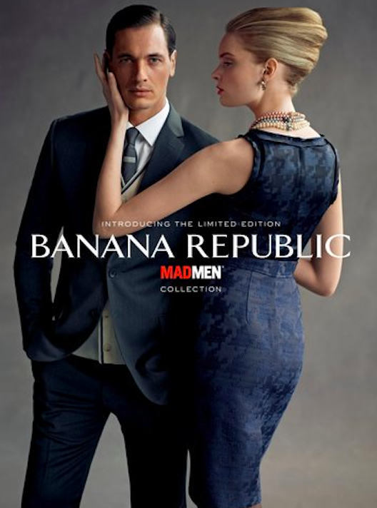 """Hand us a martini and bring on the sexual harassment. Image via <a href=""""http://fashionista.com/2011/06/banana-republic-is-launching-a-mad-men-inspired-collection-with-janie-bryant/"""">Fashionista</a>"""