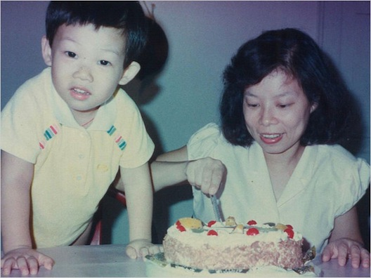 This little mischief-maker grew up to be First Lady-favorite Jason Wu. Image via NY Times