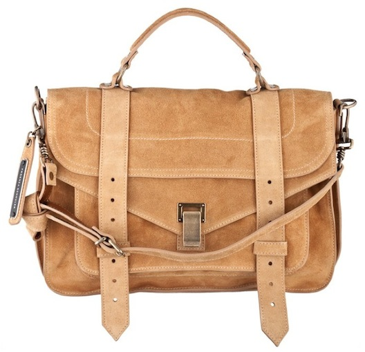"""PS1 bag donated for auction by Proenza Schouler via <a href=""""https://www.facebook.com/ppfconsignment#!/ppfconsignment?sk=wall"""">PPF/Facebook</a>"""