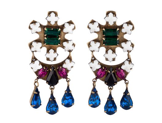"""Thordia earrings via <a href=""""http://www.dannijo.com/product_info.php?products_id=597"""">Dannijo</a>"""
