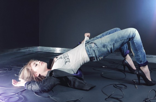 """Good Jeans: Uffie models denim from the Diesel + Uffie collection. Image via <a href=""""http://www.stylelist.com/2010/11/08/diesel-uffie-denim-dreams/"""">Style List</a>. <p><strong>Local</strong><br>· <a href=""""http://mondette.com/rosewoodandmartel/2010/"""