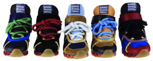 de79a3cc5440 Bernhard Willhelm for Camper Sneakers  Like a Transparent Wave