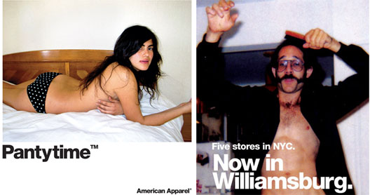 """Back in 1999, could anyone in Los Angeles have seen this coming? Images via <a href=""""http://americanapparel.net/"""">American Apparel</a>."""