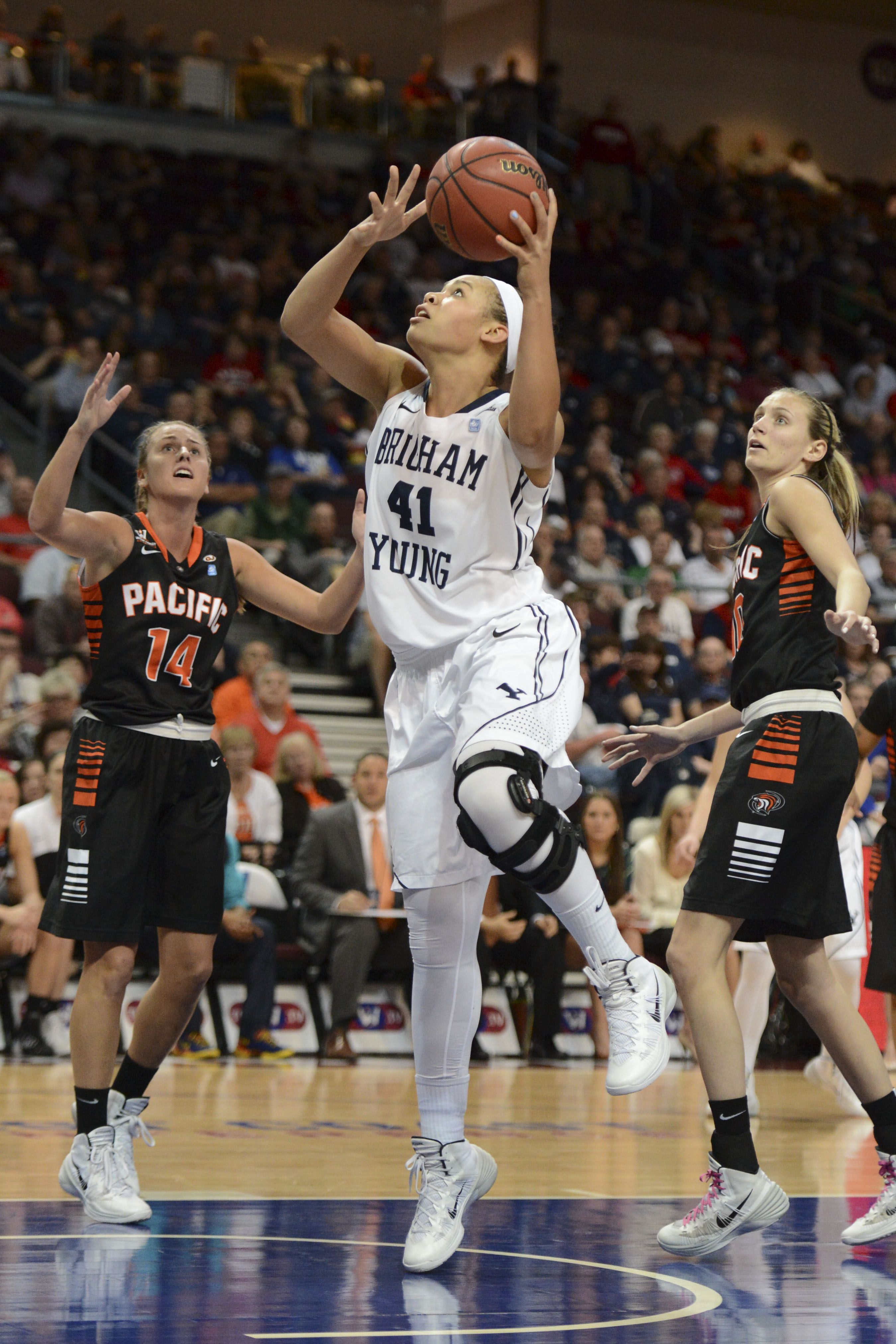 Morgan Bailey earned her 16th and 17th career double-doubles last week.