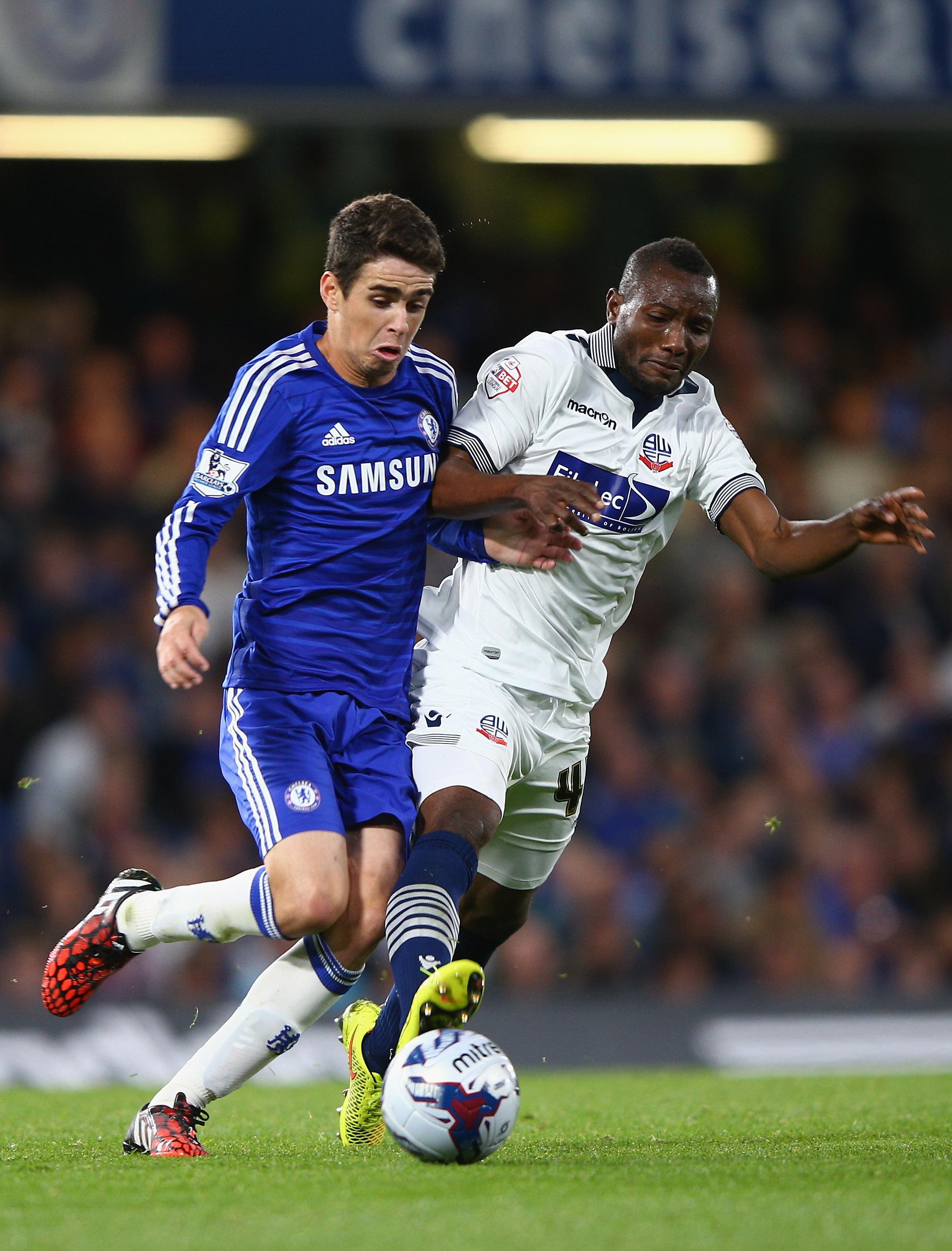 Kamara in action against Chelsea earlier on this season.