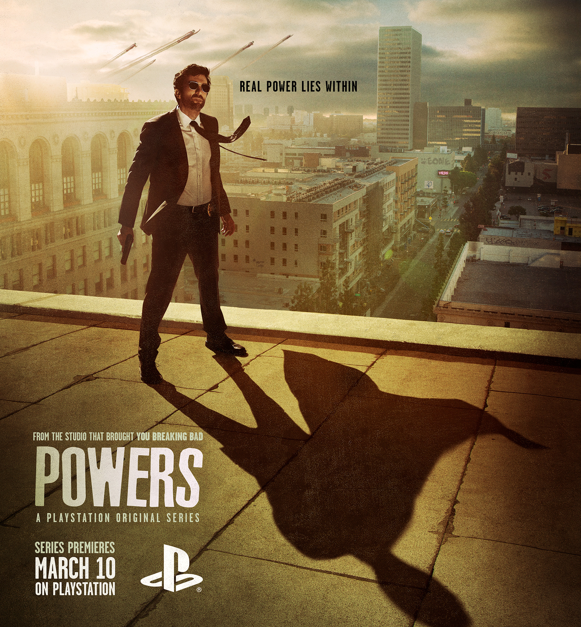 Powers, PlayStation's first original TV series, premieres this March