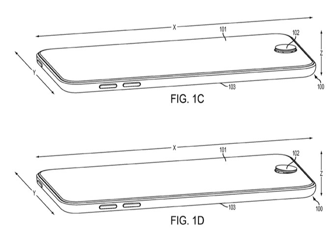 Patent application shows iPhone with built-in joypad [Corrected]