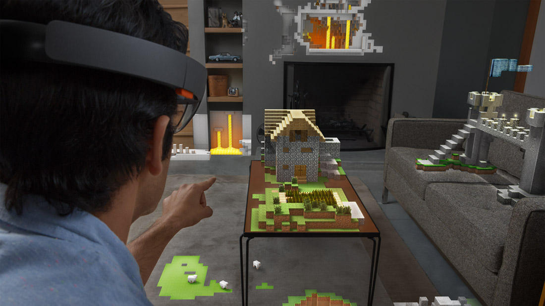 Microsoft announces HoloLens, an augmented reality 'hologram' headset, for Windows 10