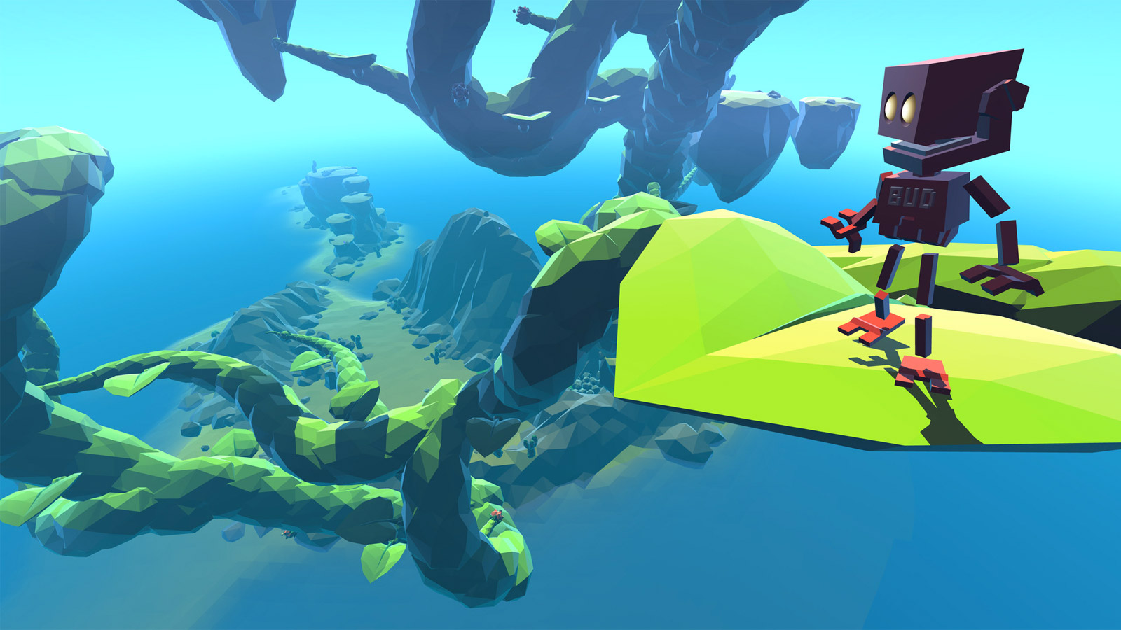 Ubisoft reveals a weird little game about robots and plants called Grow Home