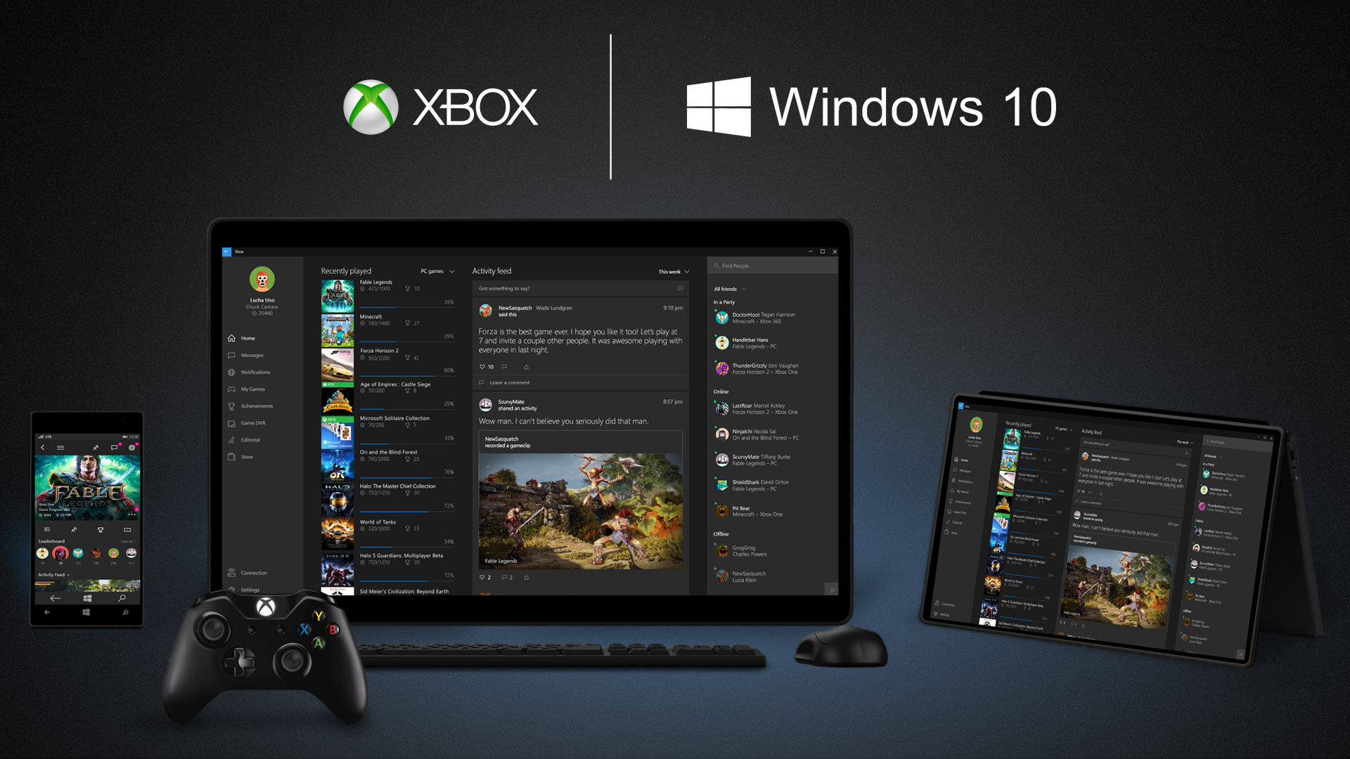 Microsoft: PC gaming is very important to Windows 10 and the company's success