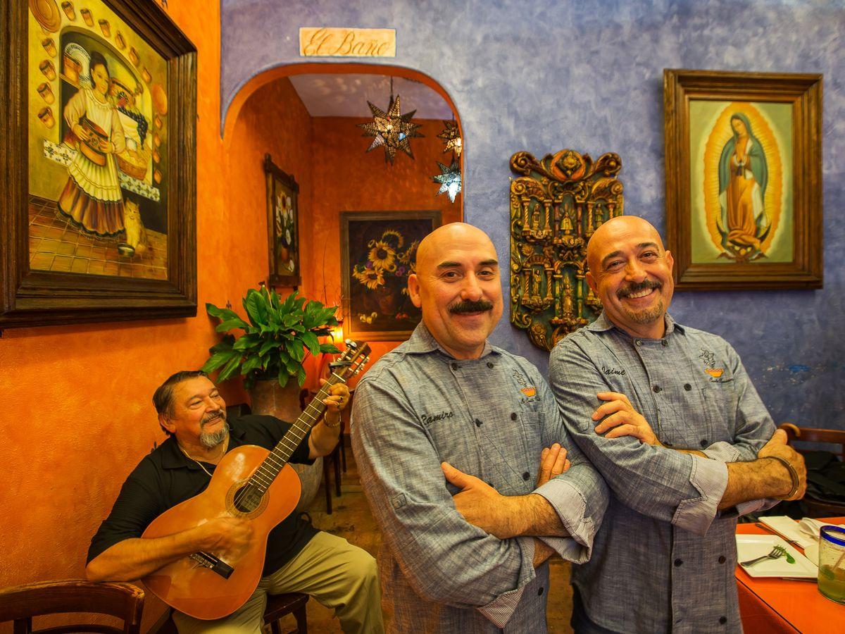 Jaime Martin del Campo and Ramiro Arvizu of La Casita Mexicana.
