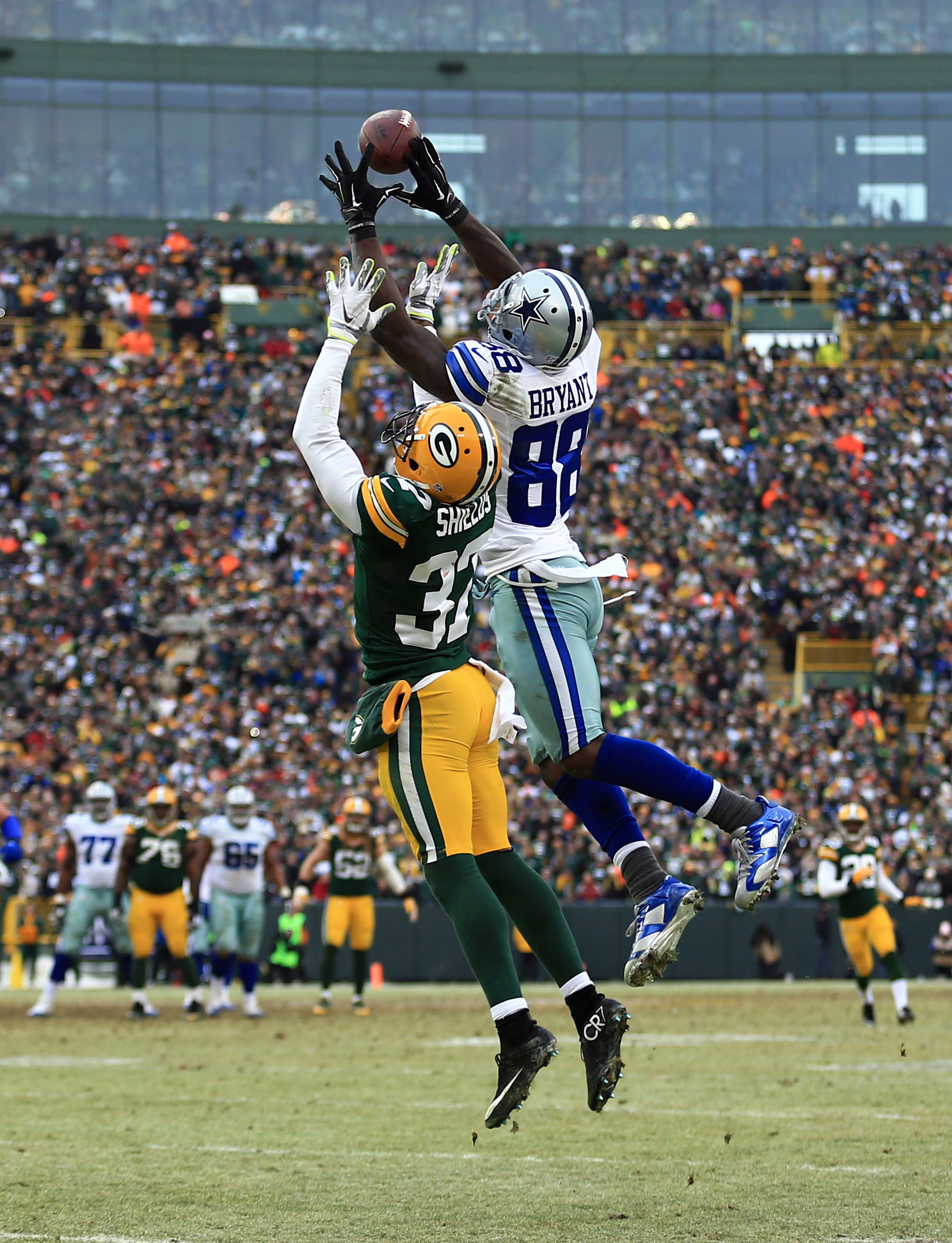 Packers CB Sam Shields admits Dez Bryant made that catch