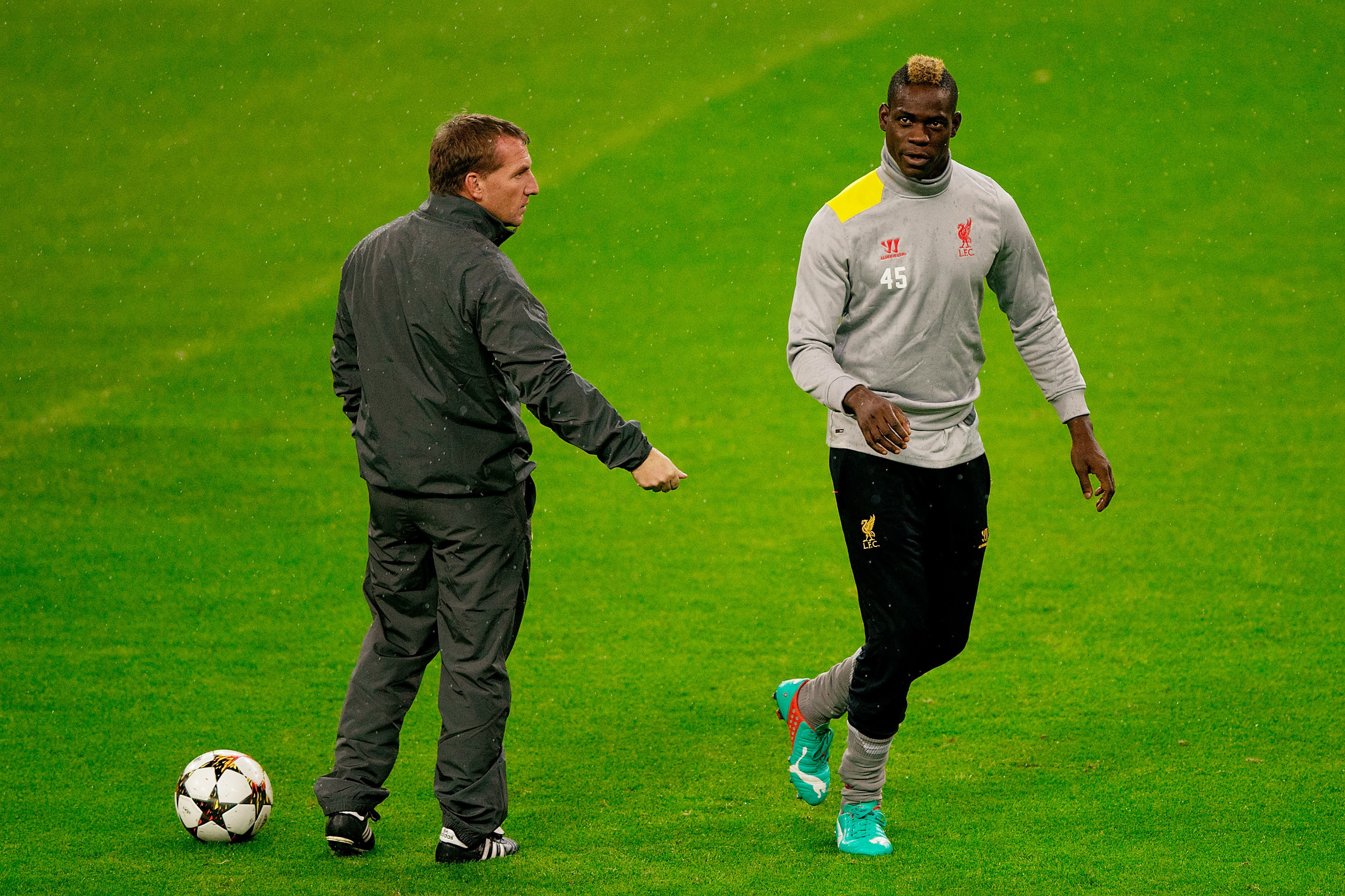 Brendan Rodgers doesn't understand how Mario Balotelli plays