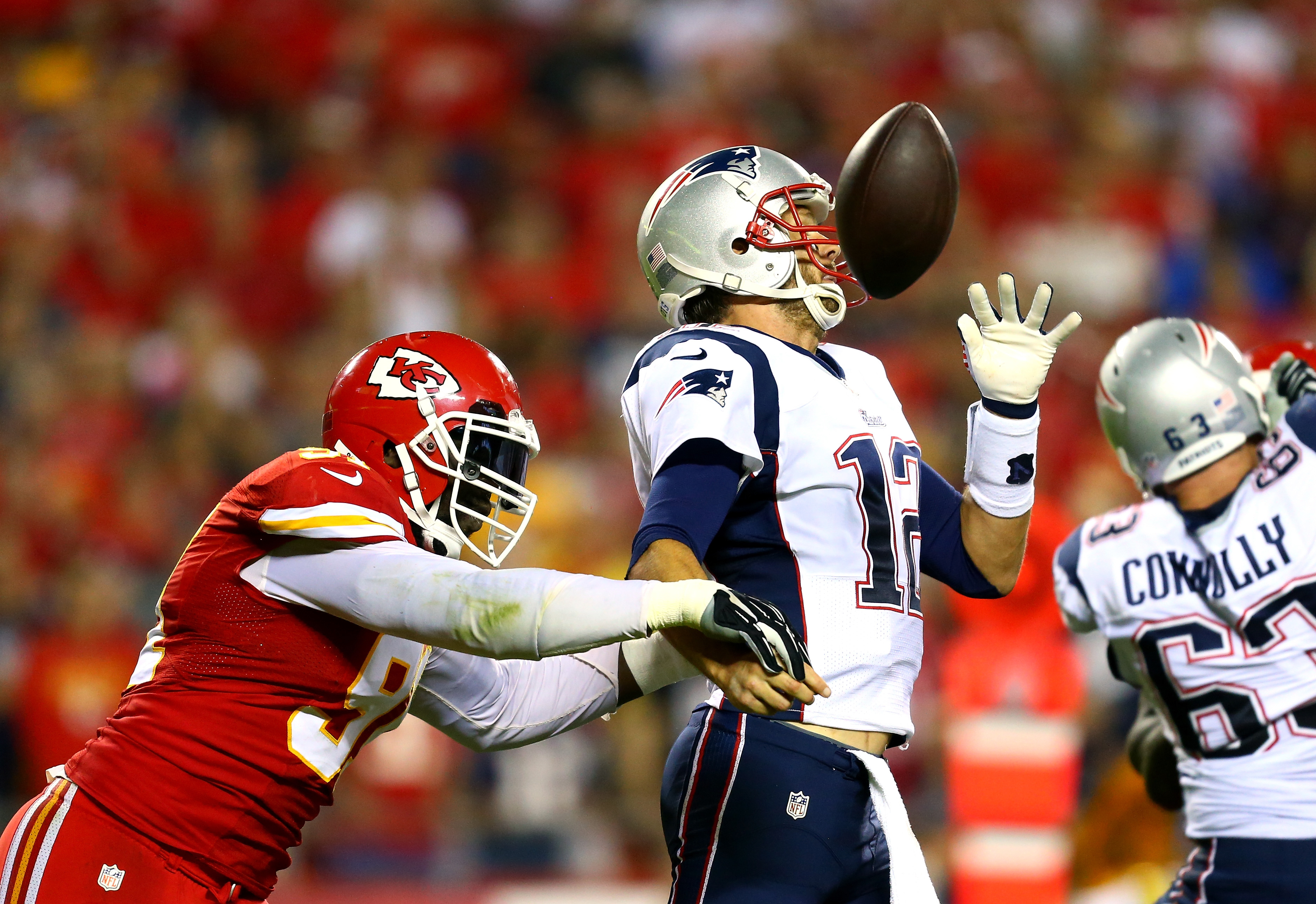 The Patriots' improbably low fumble rate raises more questions