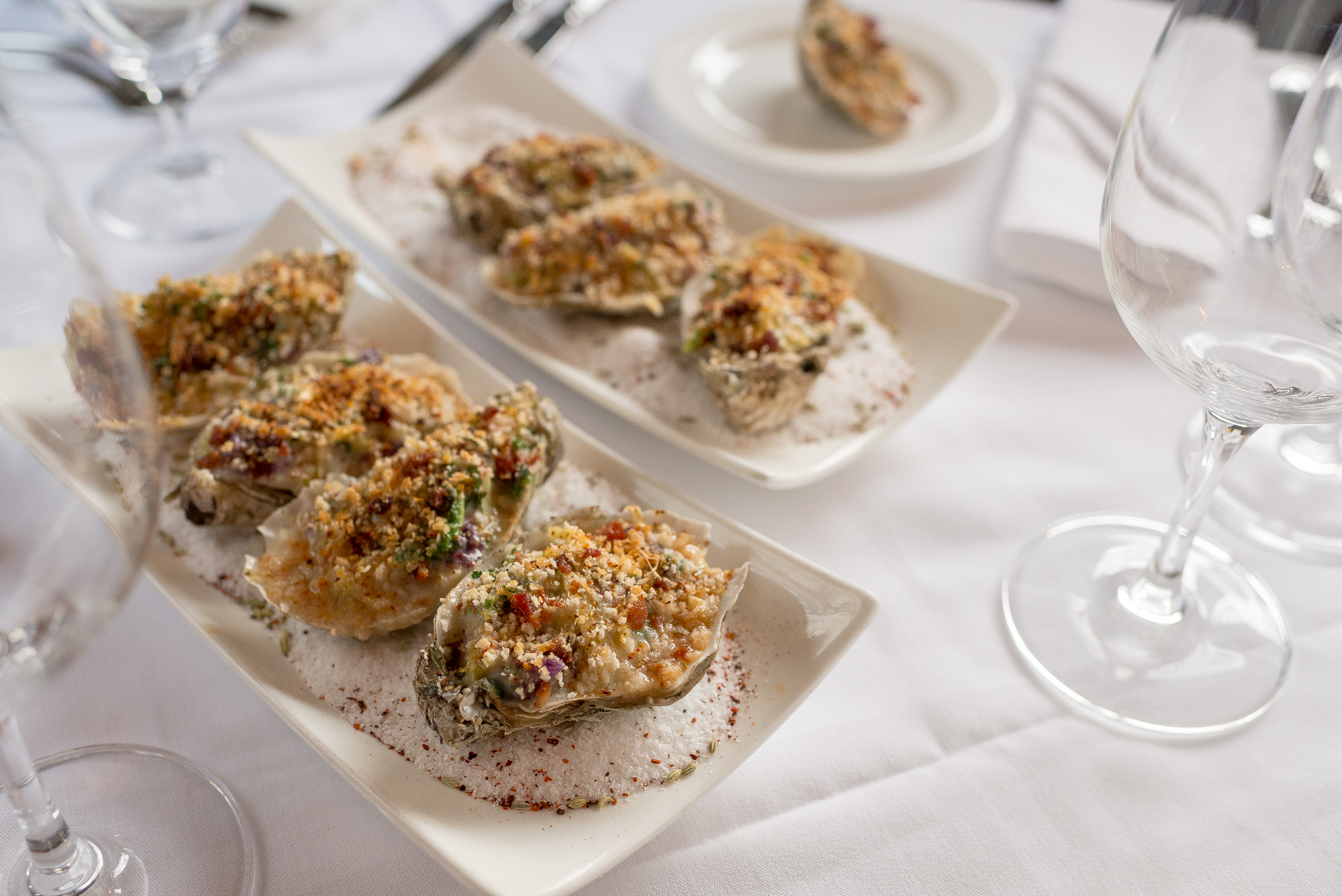 Oysters Rockefeller at The Occidental