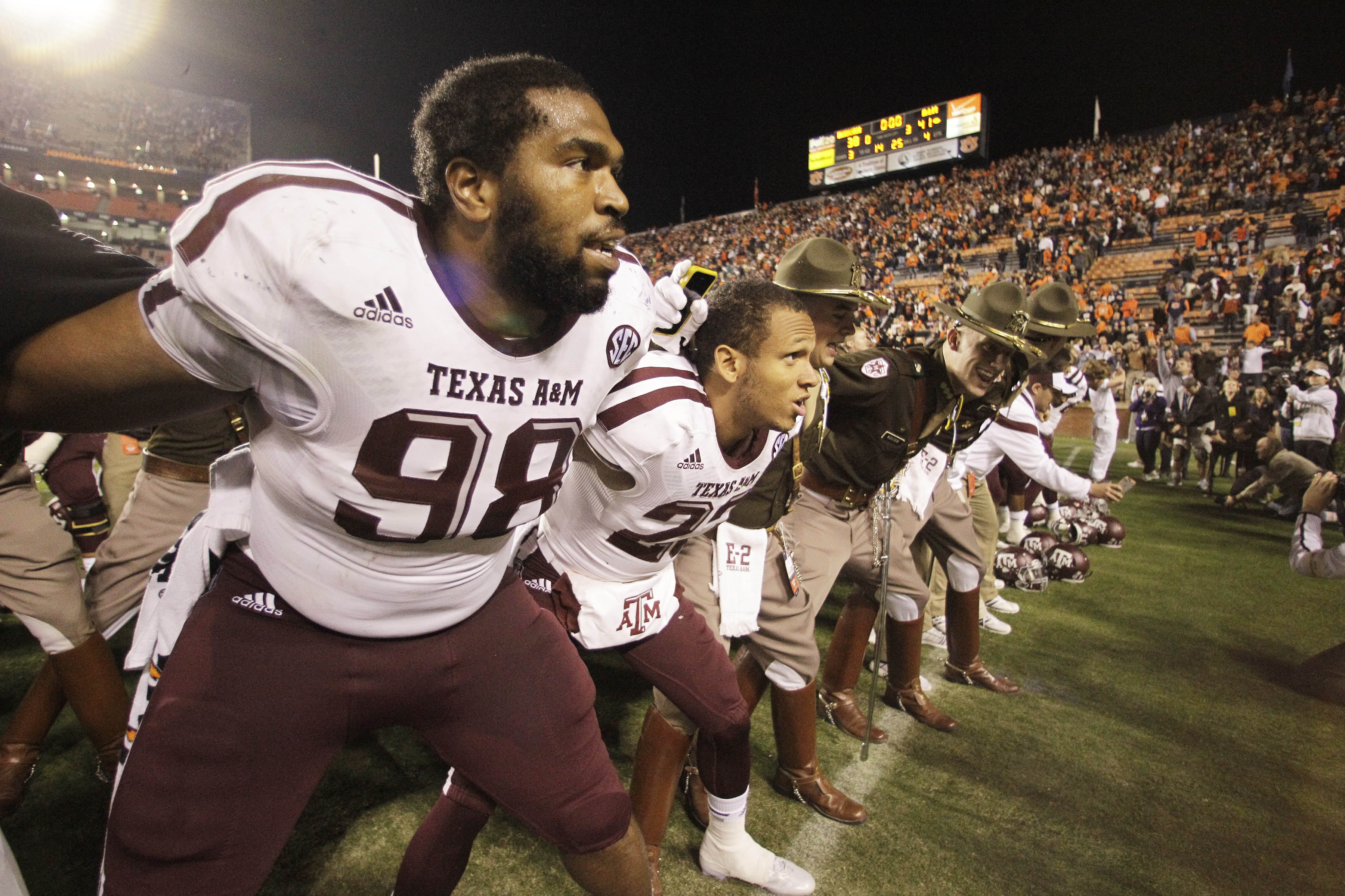 Hardback Walker and the Aggies are looking for help on the defensive line this Signing Day.