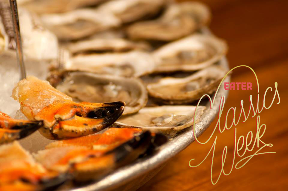 Oysters at Old Ebbitt